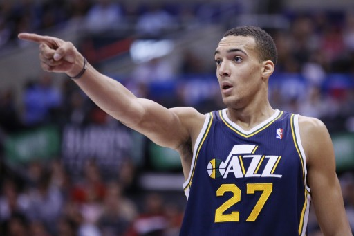 Rudy Gobert NBA Utah Jazz