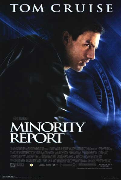 Minority Report Affiche