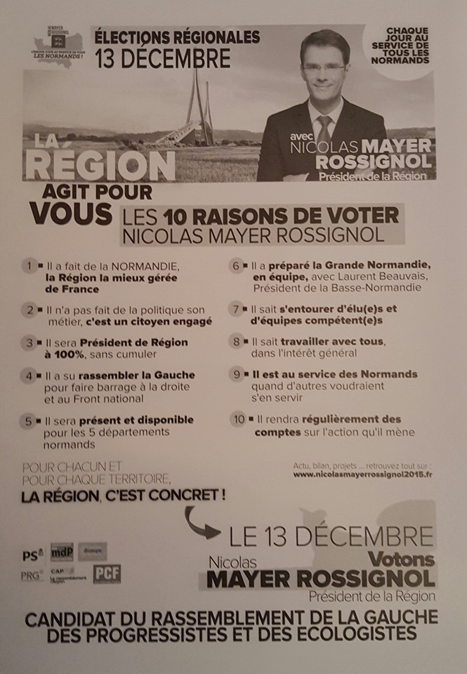 10 raisons de voter NMR Normandie