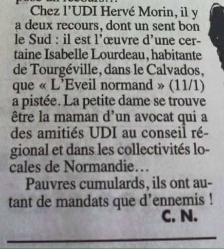Normandie recours bidon hervé morin regionales 2015