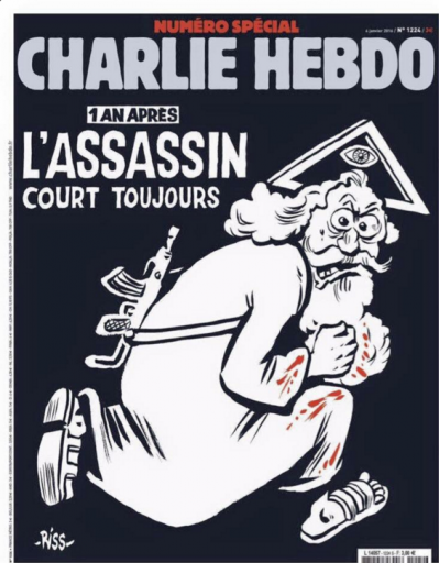 Une Charlie Hebdo 6 Janvier 2016 Je suis Charlie