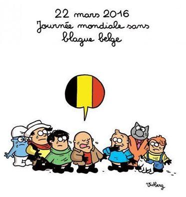 22 mars 2016 journée sans blague belge belgique