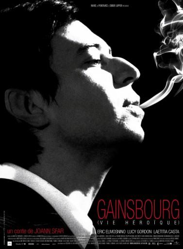 Affiche Gainsbourg Vie Héroïque