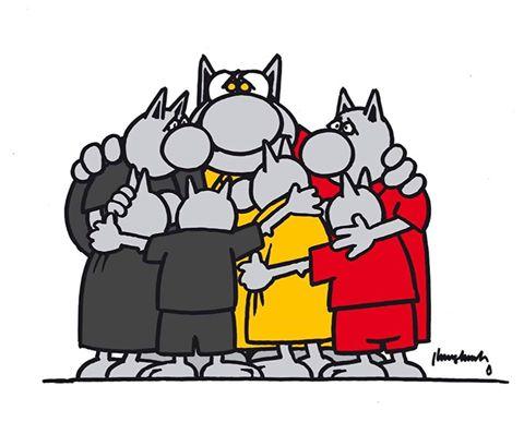 Attentats Belgique Le Cha Geluck