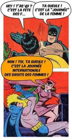 batman robin catwoman droit des femmes