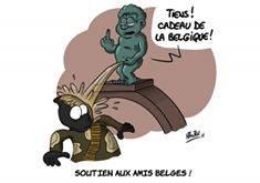 caricature belgique nawak