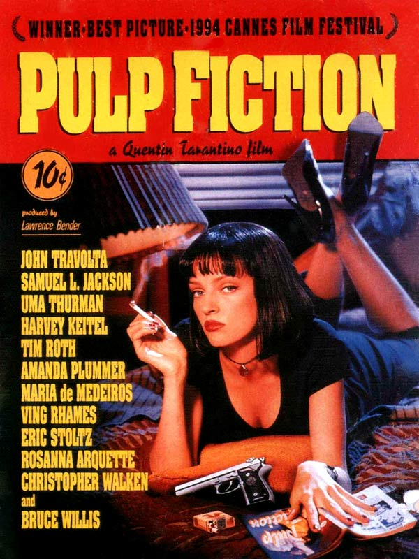 Affiche Pulp Fiction Tarantino