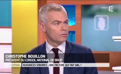 Christophe Bouillon France 5 magazine de la santé bruit 57 milliards