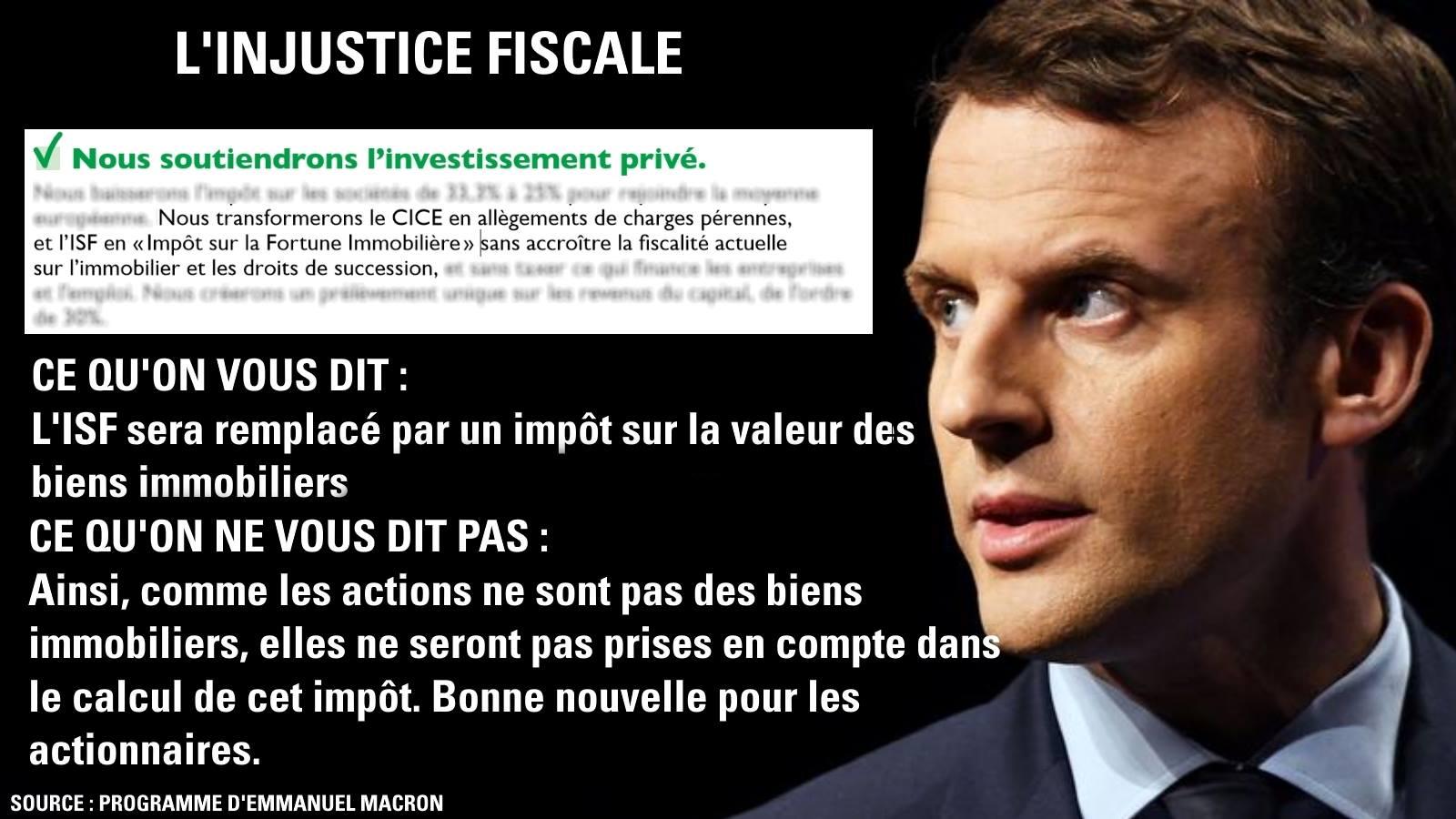 Qui est Emmanuel Macron ? - Page 7 MACRON-FISCALITE