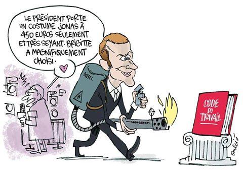 Loi Travail 2 : le plan de Macron pour affaiblir le contrat et la